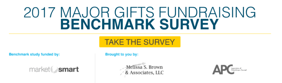 major gift benchmark study