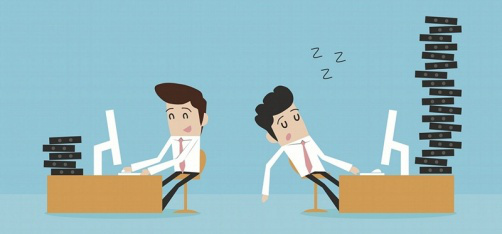 being busy vs being productive