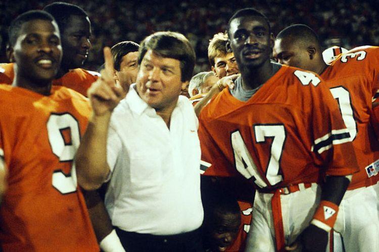 NCAA Football – 1988 – Orange Bowl – Oklahoma Sooners Vs Miami ...