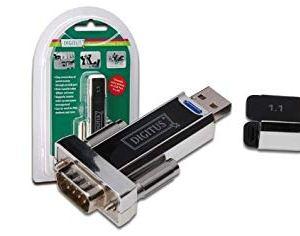 Adaptador USB-Serie DB9 serial adapter
