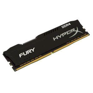Dimm KINGSTON 4GB DDR4 2400Mhz CL15 HyperX FURY Black