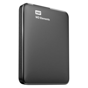 Disco 2.5 Ext USB 3.0 1TB WD Elements -WDBUZG0010BBK
