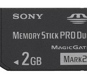 Memoria SONY MemoryStick PRODuo 2GB