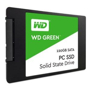 SSD WD 120GB 540R-430W-63K IOPs