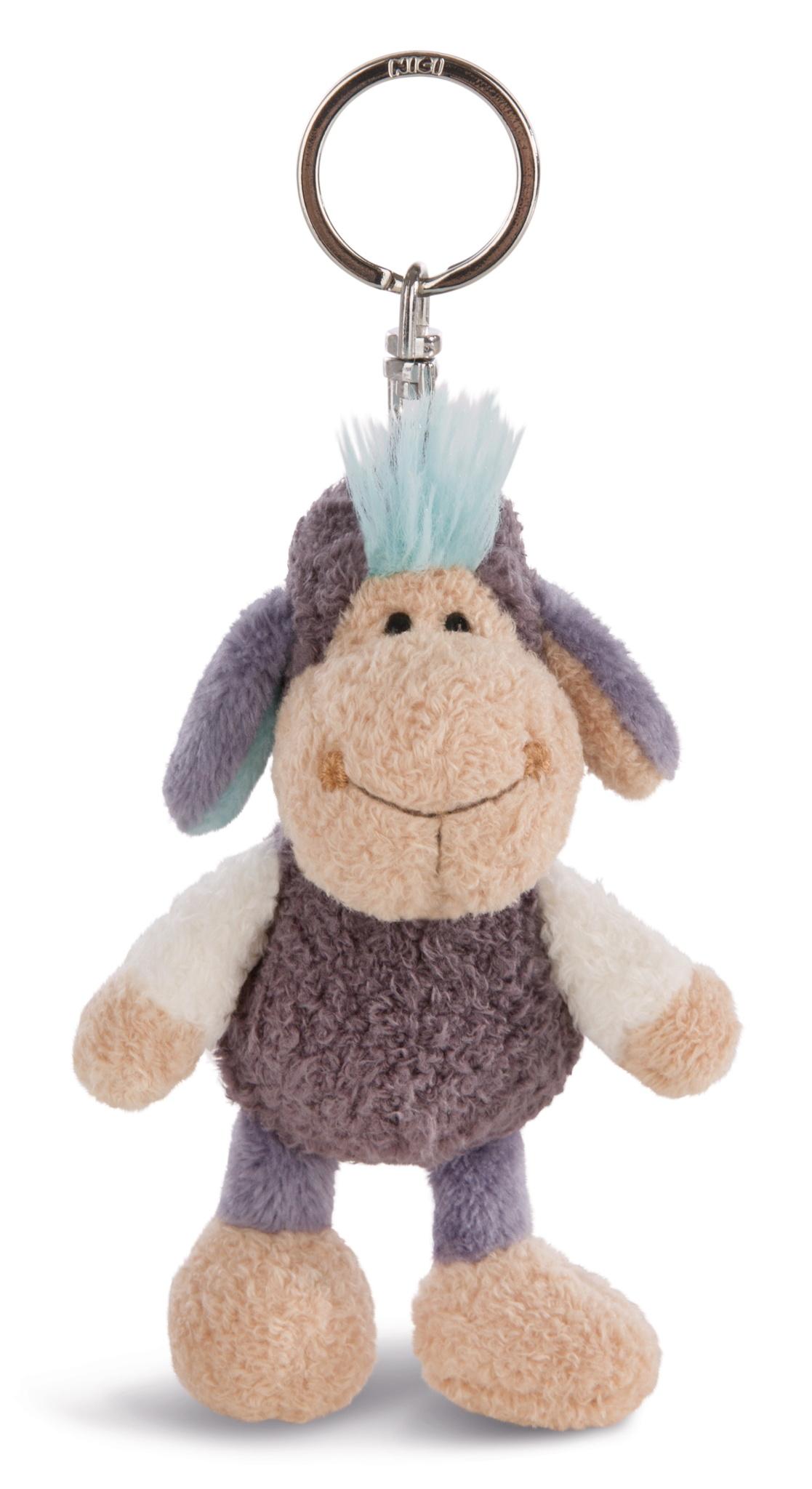 llavero oveja azul