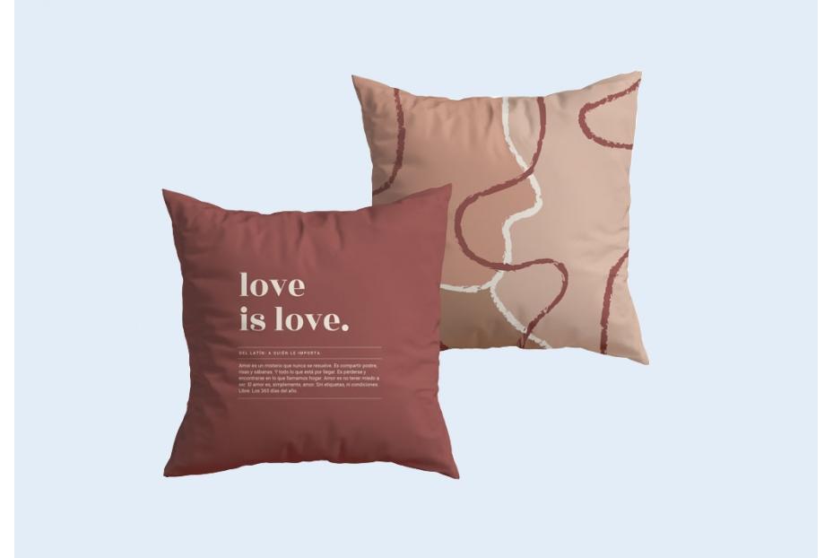 funda-cojin-love-is-love-definicion-burdeos