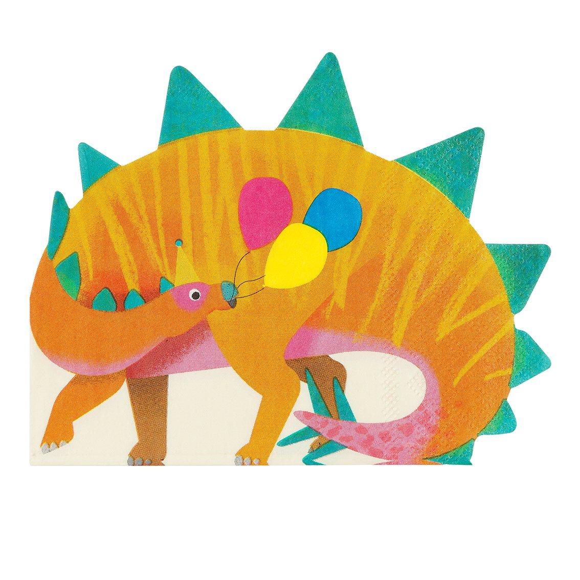 dinosaurio servilleta