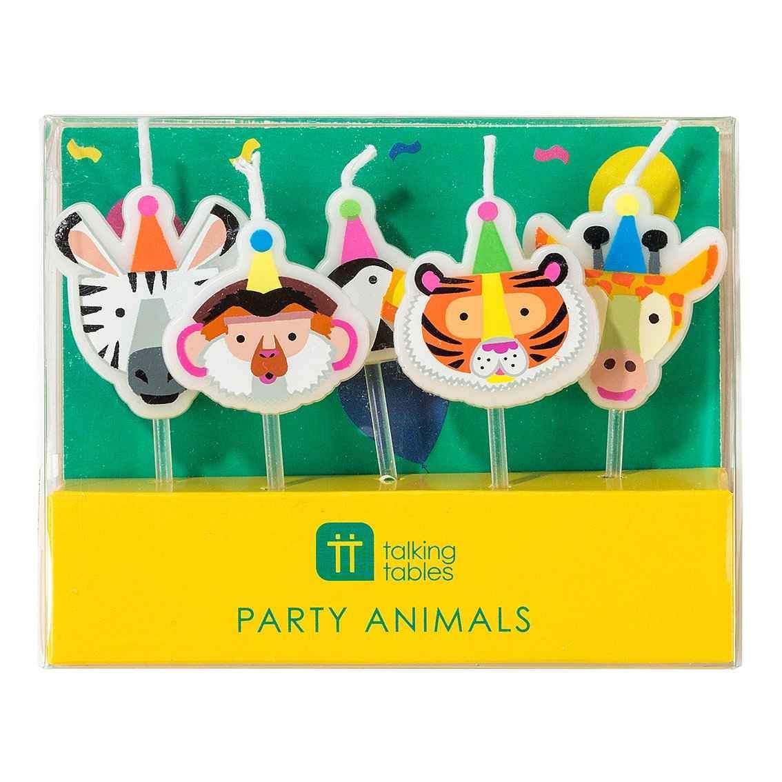 Velas-animal-party