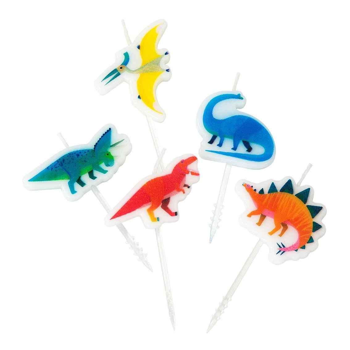 velas Dinosaurio