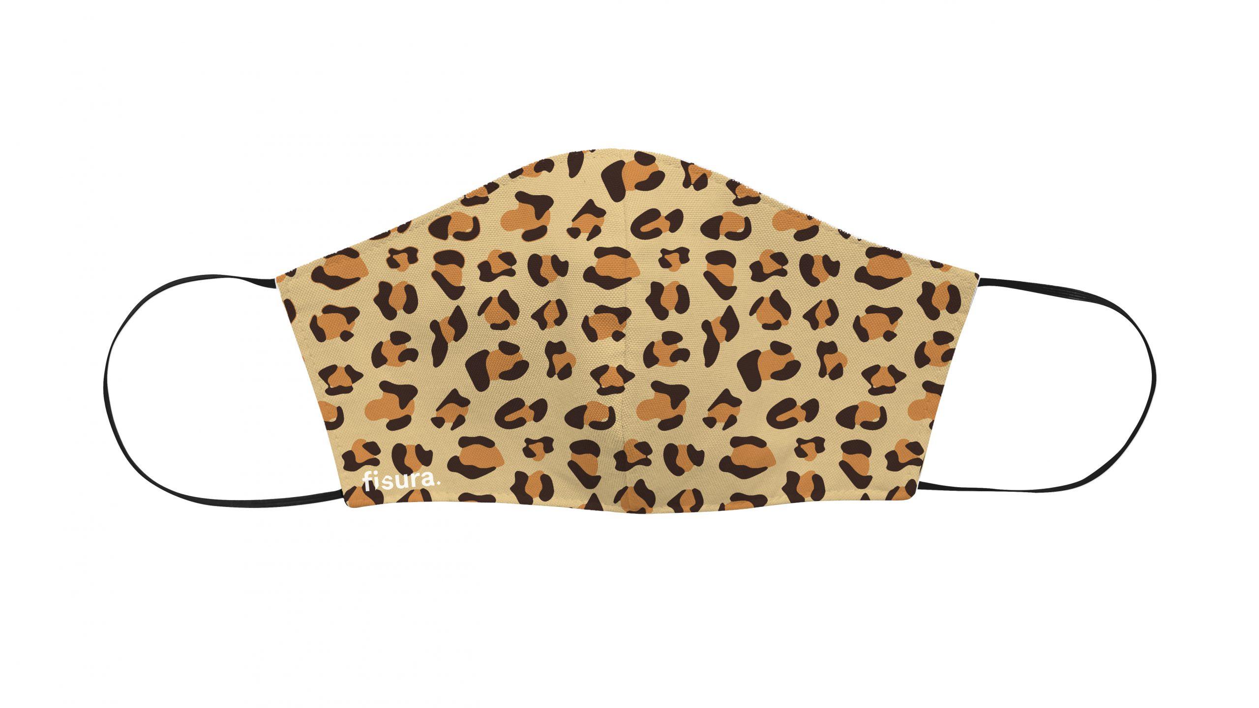 Mascarillas cheetah natural