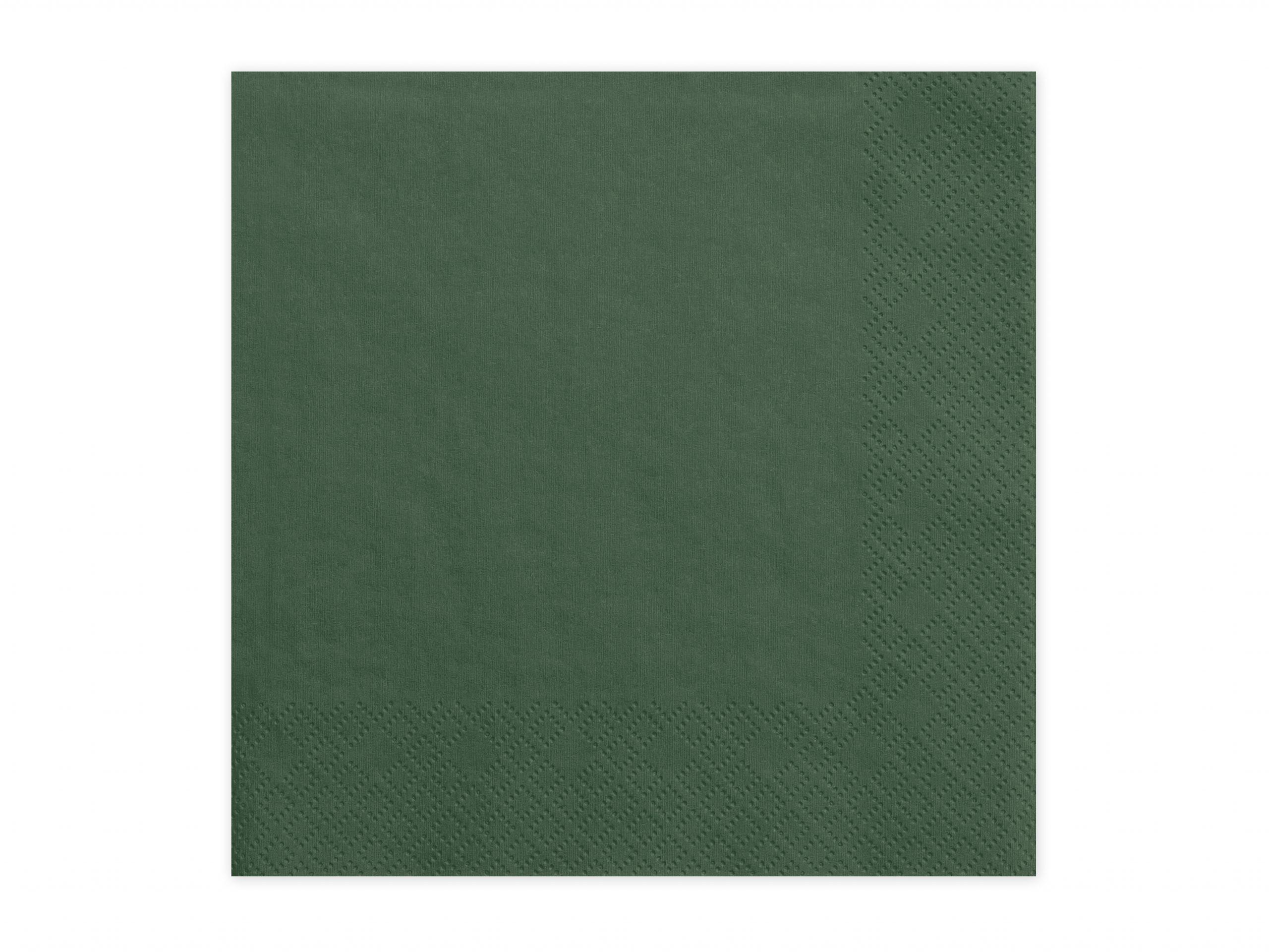 Servilletas verde pino