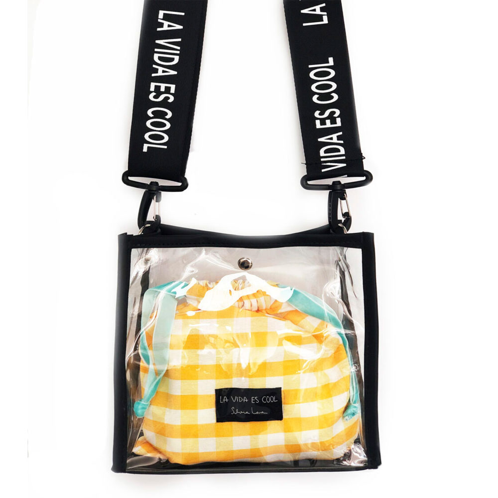sweet bag pro vichy amarillo