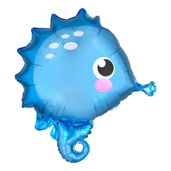 globo caballito de mar
