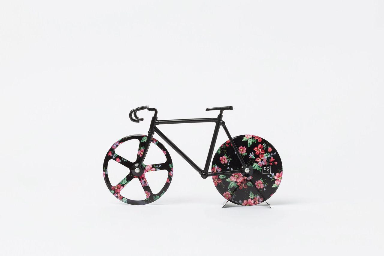 Corta pizza flores