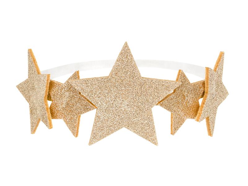Diadema de estrellas infantil