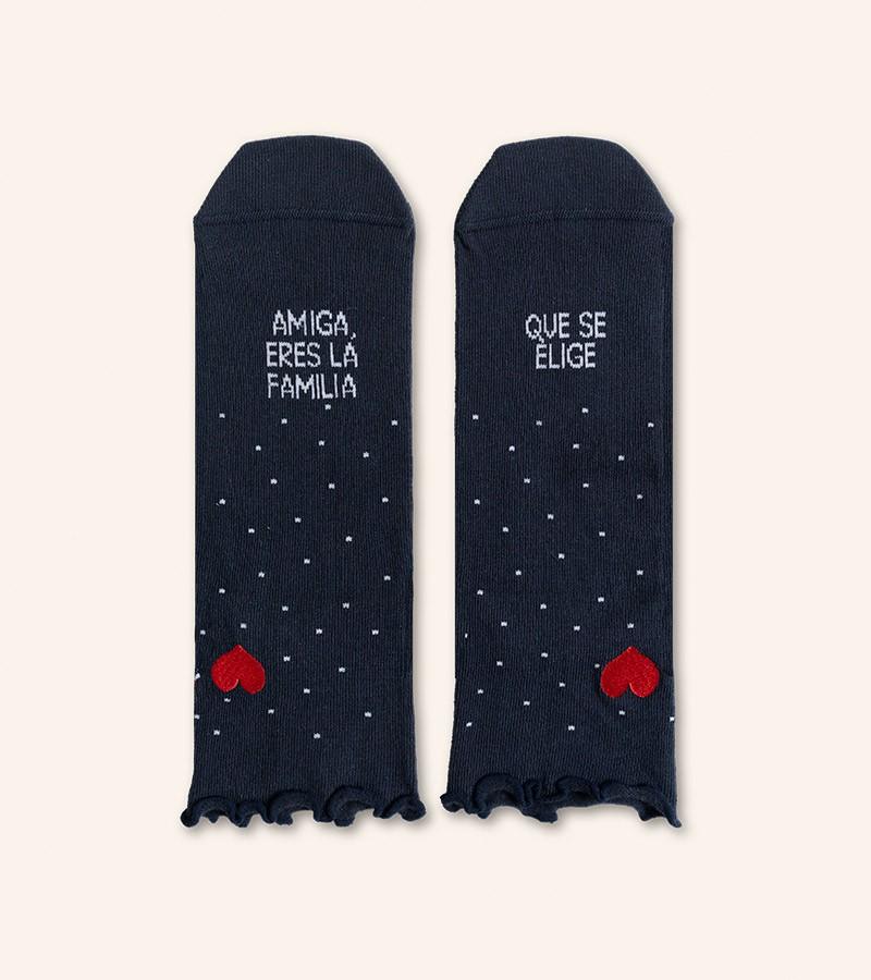 calcetines-amiga-eres-la-familia-que-se-elige-corazon