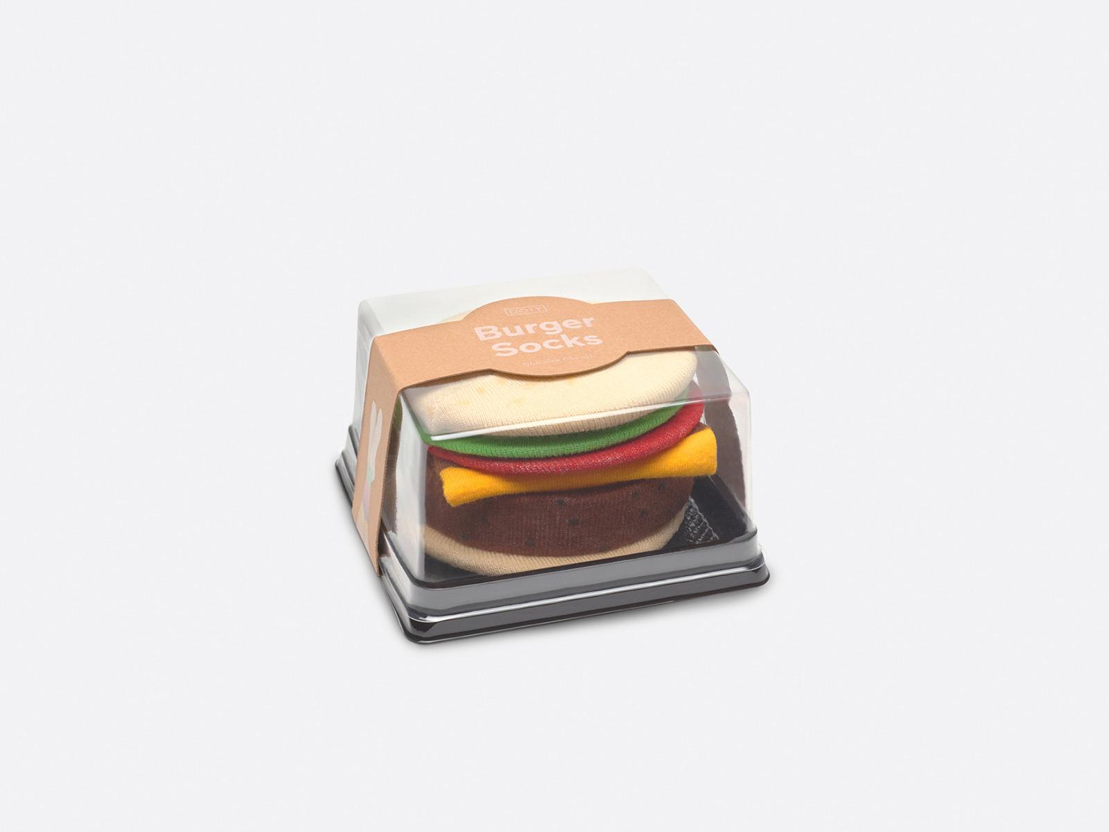 Calcetin hamburguesa