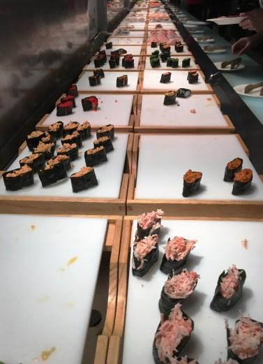 sushi at Ichiumi