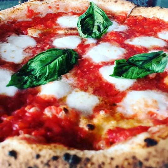 Margherita extra at Stone Neapolitan Pizzeria