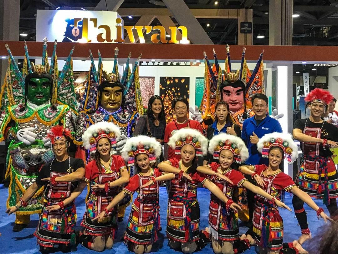 Taiwan booth