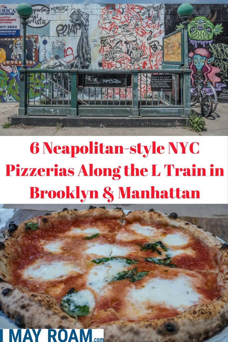 Pinterest 6 Neapolitan-syle NYC Pizzerias Along the L Train