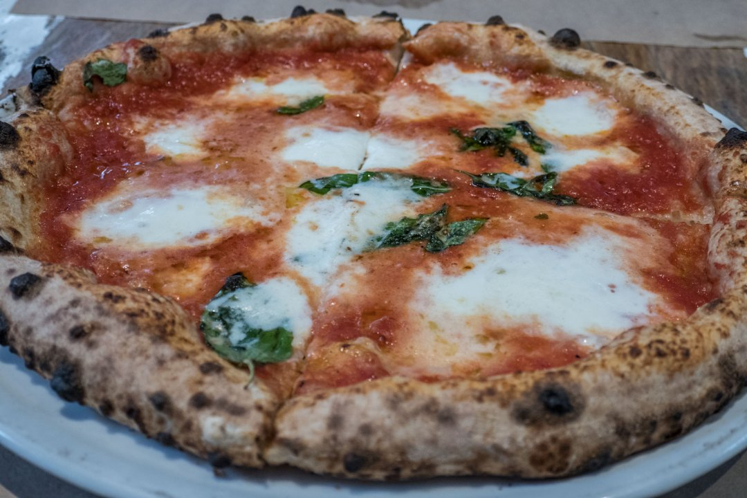 DOC pizza at Ribalta NYC