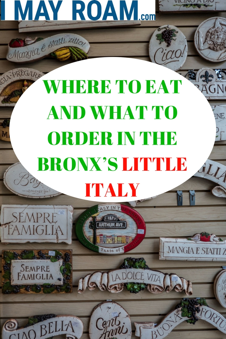 Pinterest - WHERE TO EAT AND WHAT TO ORDER IN THE BRONX'S LITTLE ITALY