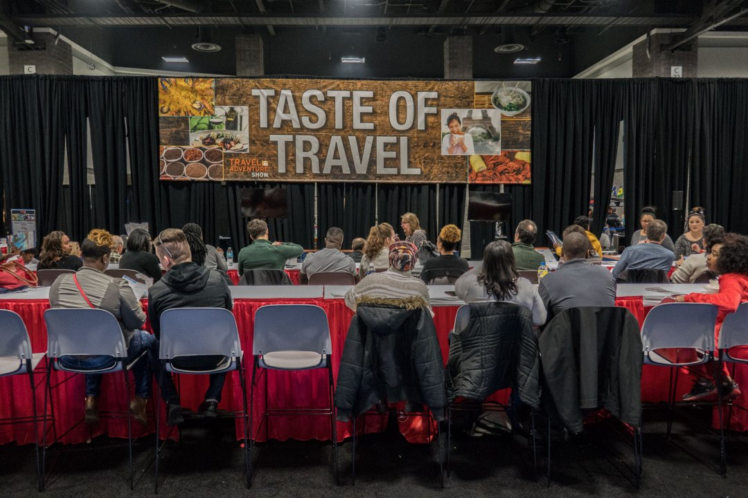 Taste of Travel at Washington DC Travel and Adventure Show