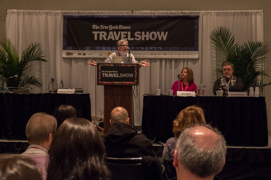 Marjorie R. Williams Festivals and Markets Seminar 2017 New York Times Travel Show