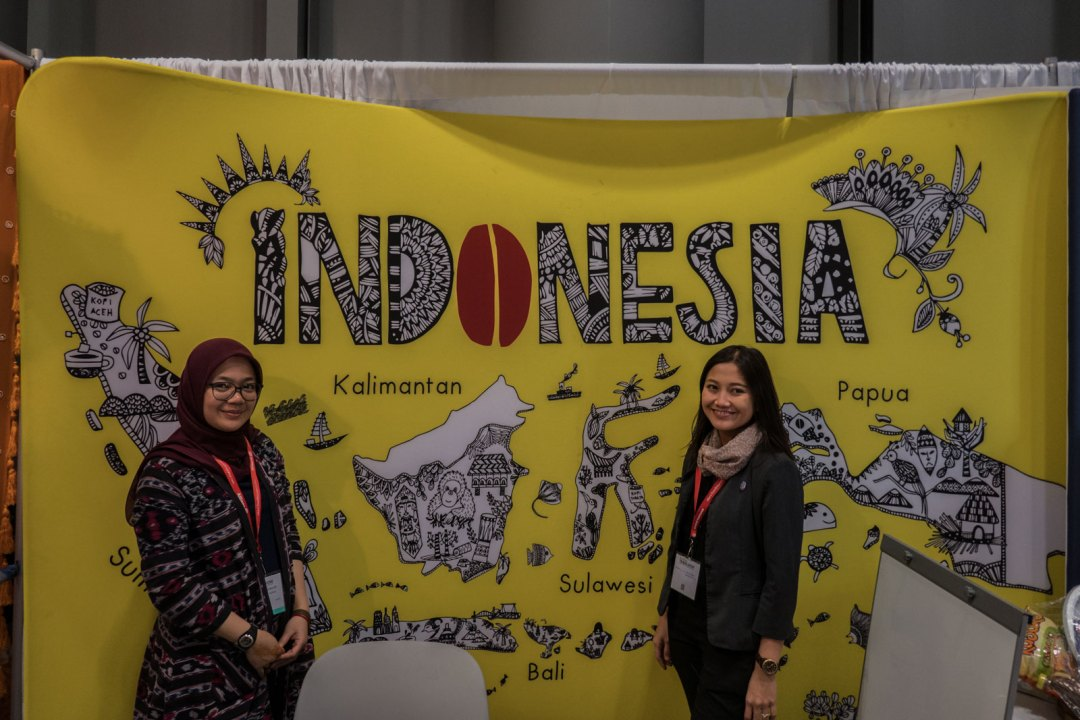 Indonesia at 2017 New York Times Travel Show