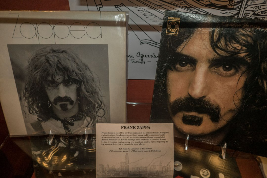 Frank Zappa at Geppi's Entertainment Museum Baltimore Maryland