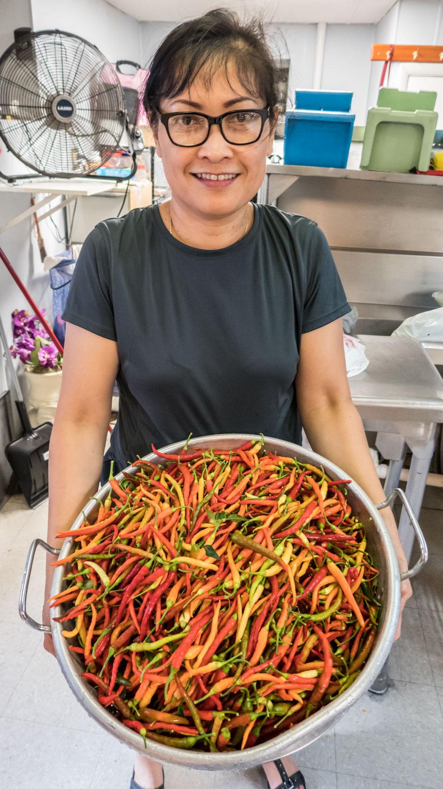 Joy Owner and Head Chef at Carlisle Thai Cuisine