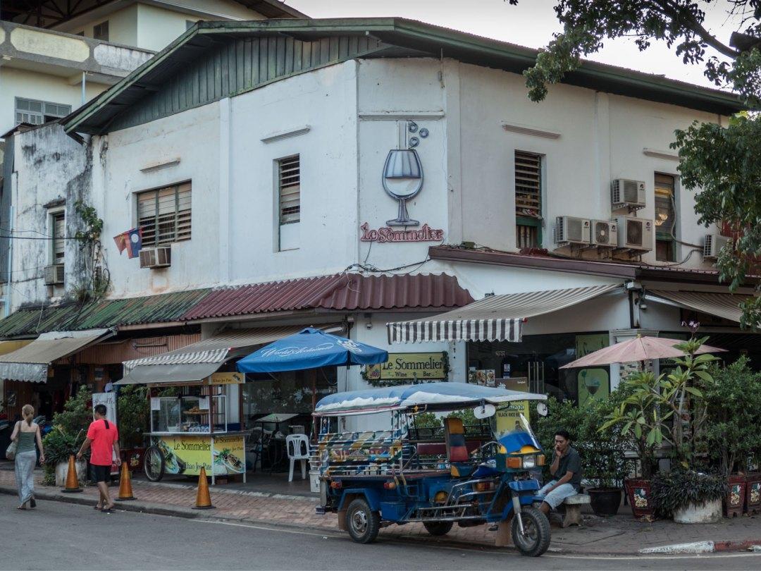 tuk-tuk in Vientiane Laos