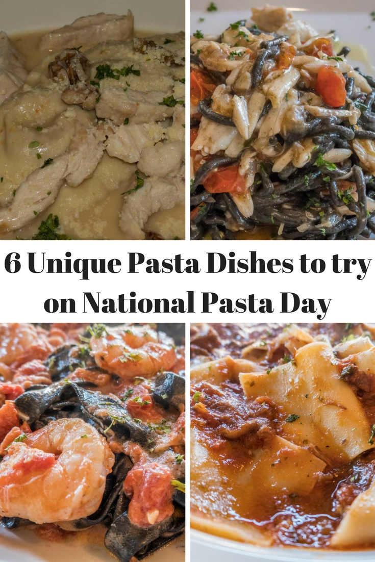 Pinterest 6 Unique Pasta Dishes to try on National Pasta Day
