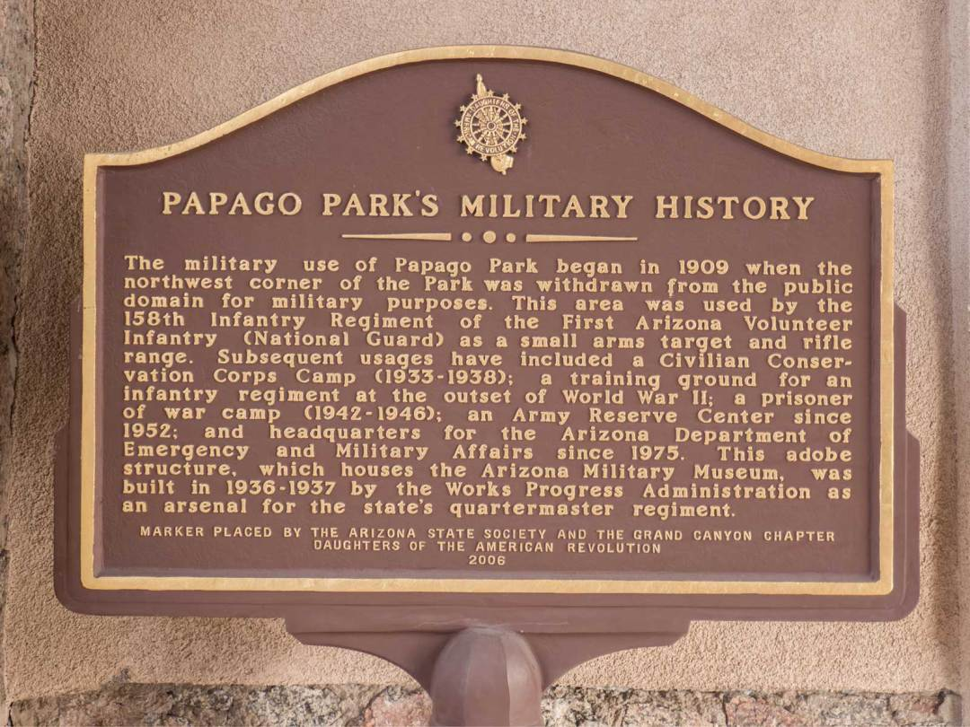 Papago-Park-Military-History-sign-at-Arizona-Military-Museum-Phoenix-1600x1200