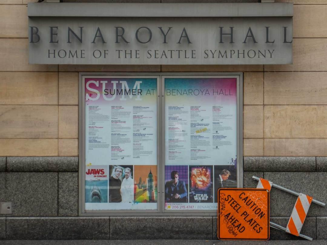 Benaroya Hall Seattle Washington