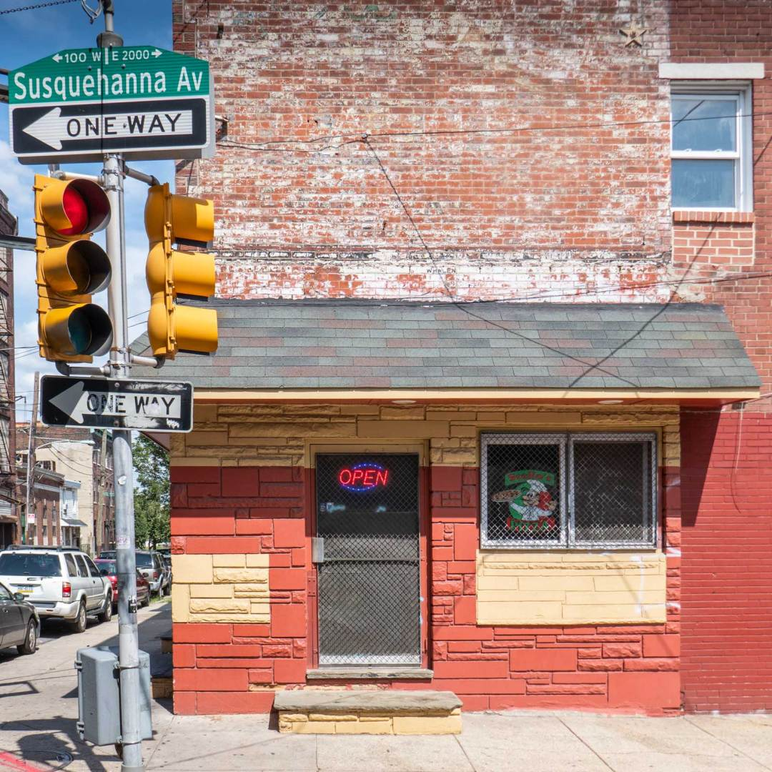 Stelio's Pizza formerly Andy's Bar from Rocky V street fight scene Philadelphia