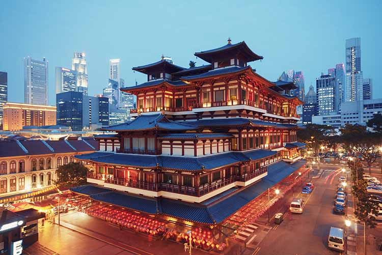Chinese Temples and Buddhist shrines in Singapore
