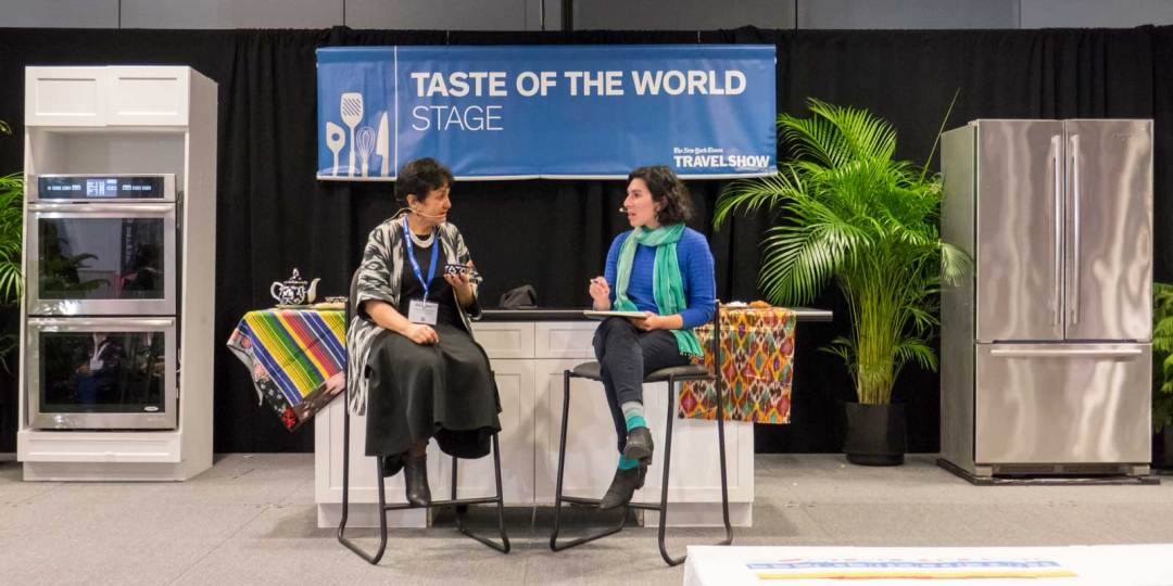 Damira Sonya League of Kitchens 2018 New York Times Travel Show