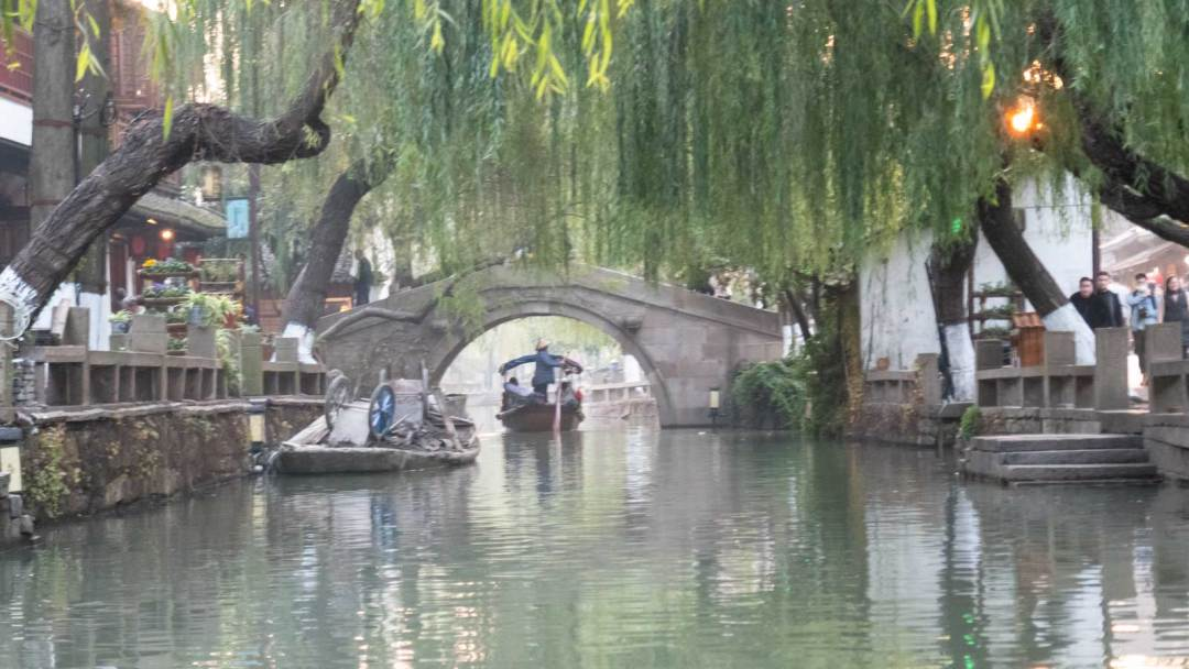 canal in Zhouzhuang China