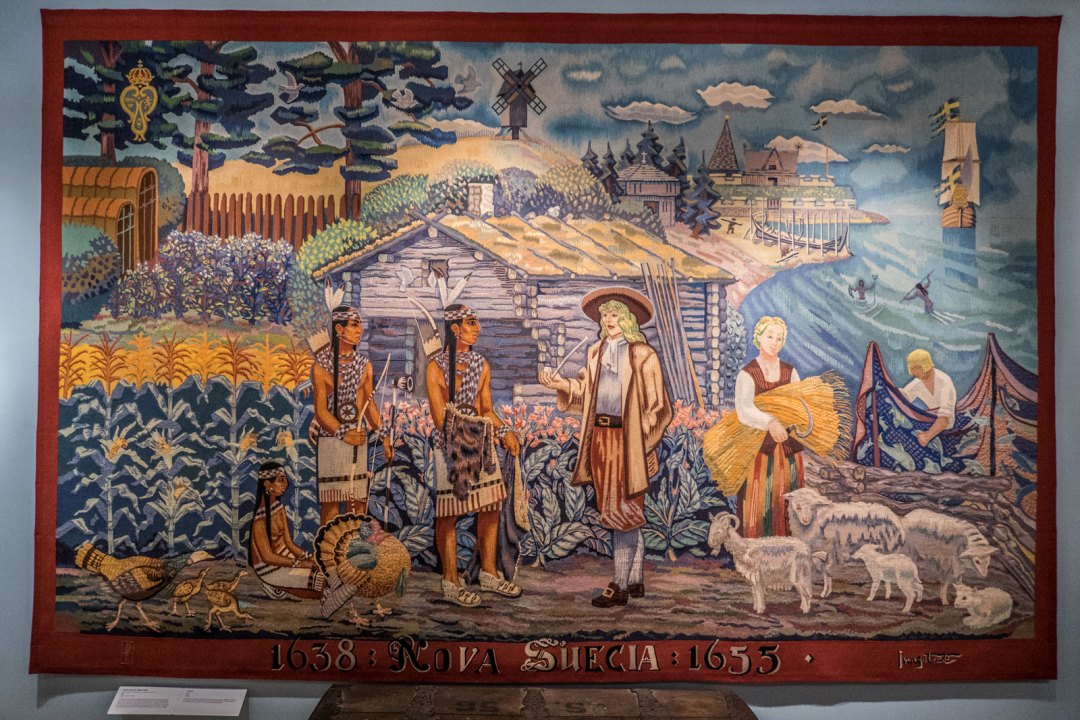 American Swedish Historical Museum off SEPTA Broad Street Line in Philadelphia