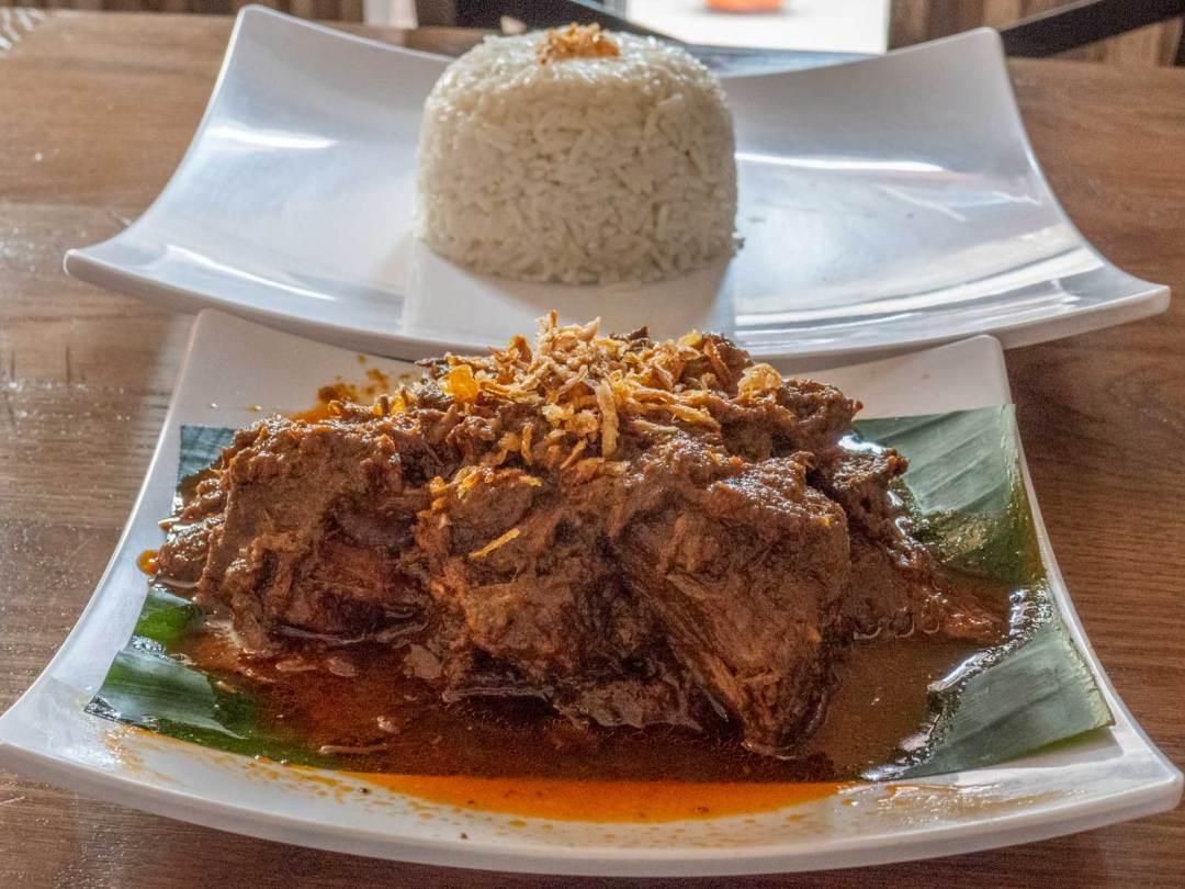 Beef Rendang at D'Jakarta Cafe Philadelphia