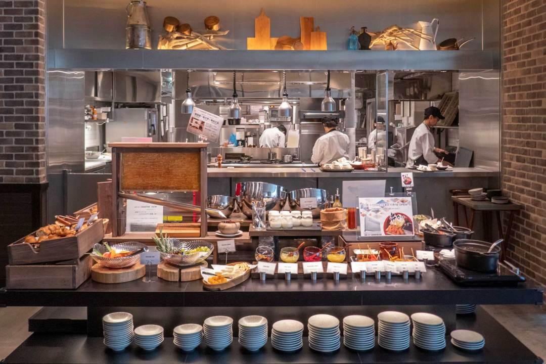 Shibuya Stream Excel Hotel Tokyu breakfast buffet