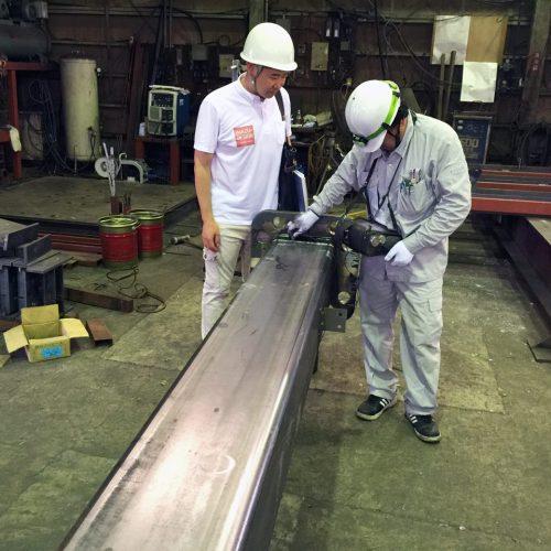 工場の移転新築、デザインの鉄骨製品検査、工場検査|愛知県江南市の市街化調整区域