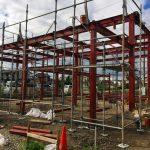 工場の移転新築、デザインの上棟式|愛知県江南市の市街化調整区域