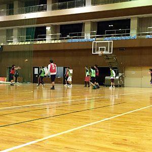 バスケットボールの練習納め