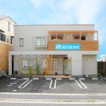 青空整骨院&エステティックサロン(店舗付き住宅)の新築設計、店舗デザイン