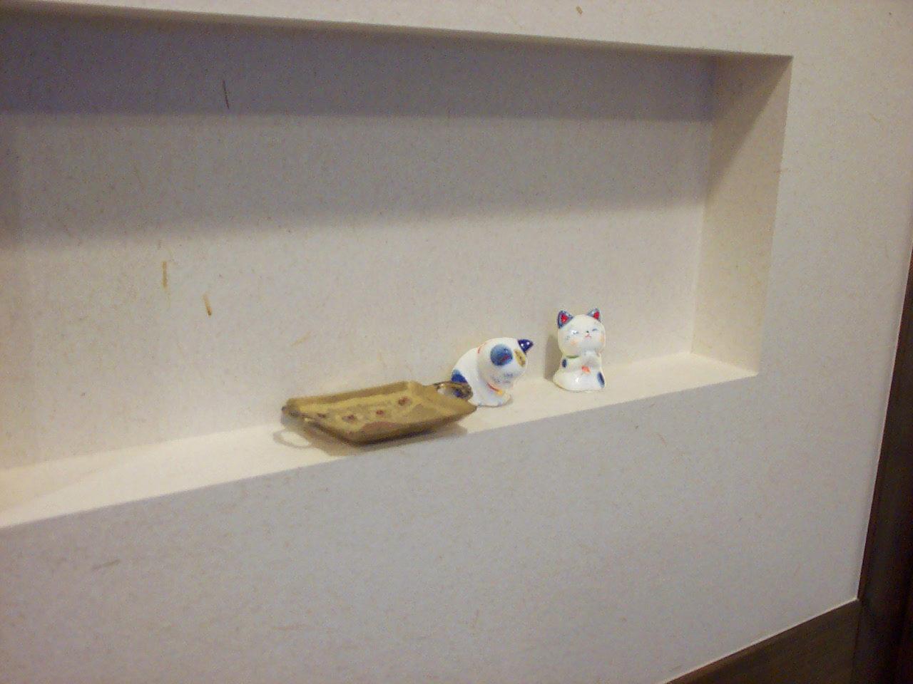 猫好きの女性オーナーが経営する岐阜県岐阜市の美容室併用住宅WITの新築設計、店舗デザイン