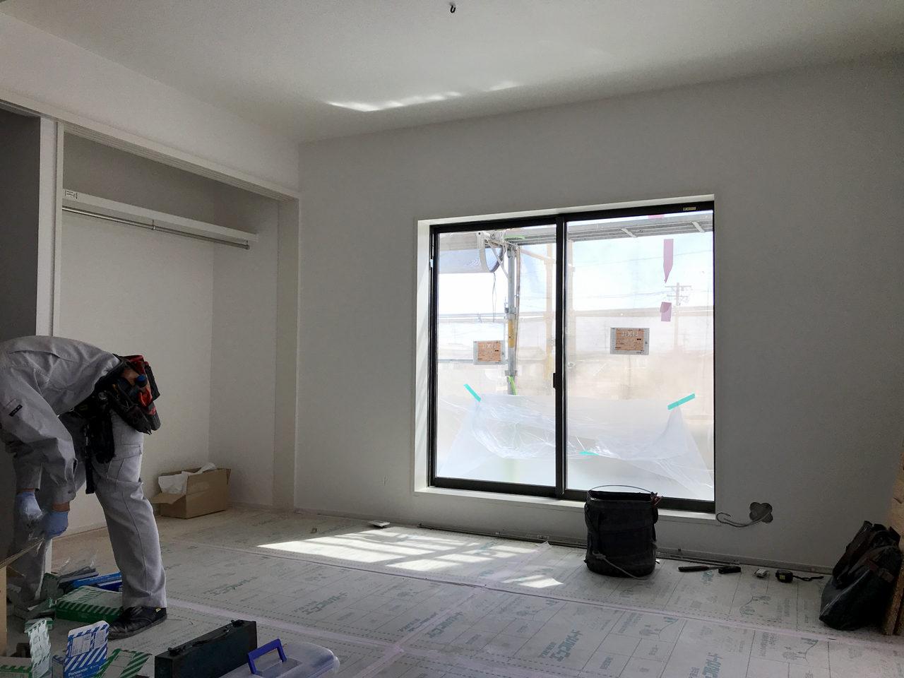 相続をした空き家を賃貸マンションへリノベーション改装工事の2階LDK