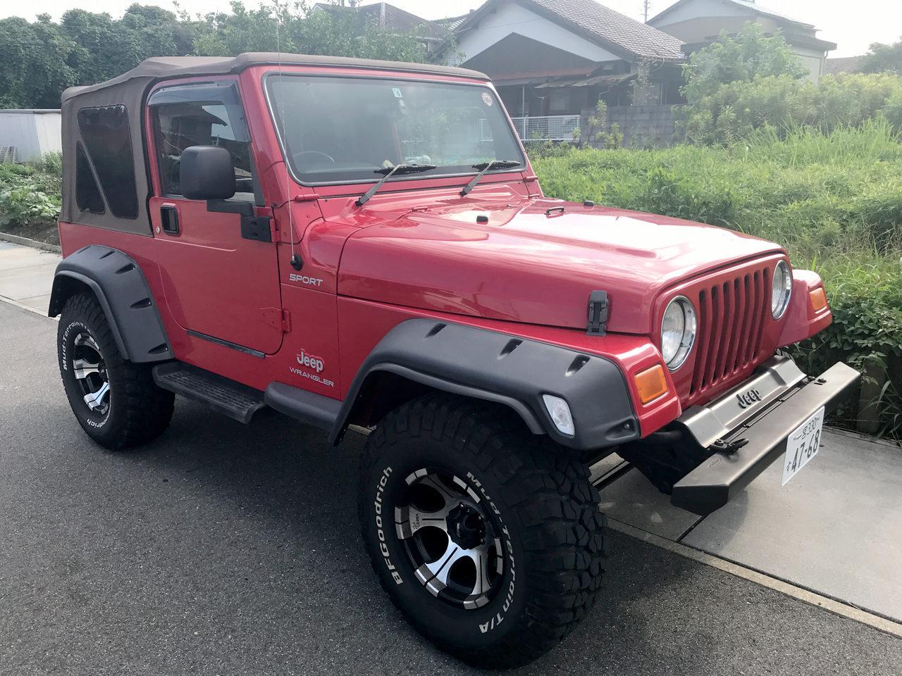 TJラングラー2006年式赤